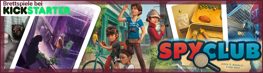 Spy Club bei Kickstarter