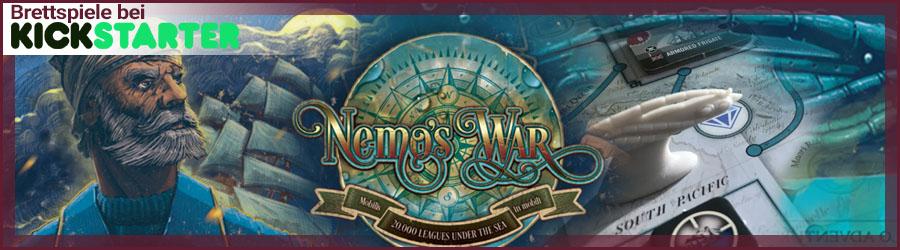 Nemo's War bei Kickstarter