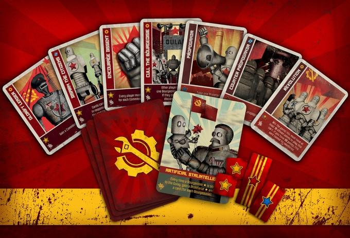 Cogs and Commissars Karten
