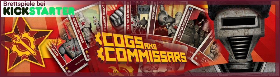 Cogs and Commissars Kickstarter