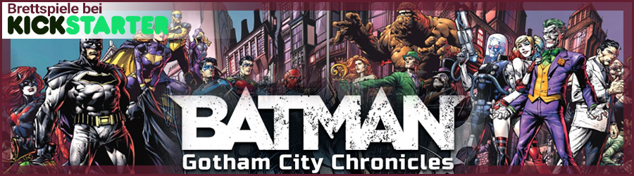 Batman the Boardgame Kickstarter