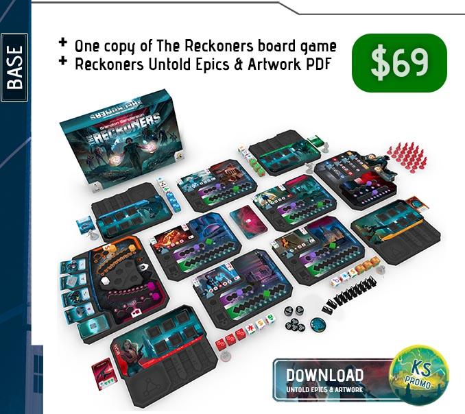 The Reckoners Kickstarter Base