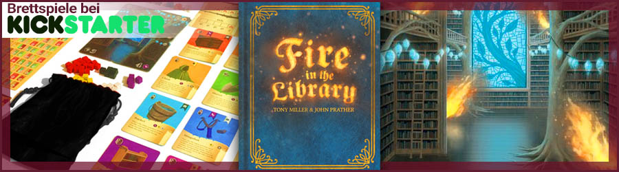 Fire in the Library bei Kickstarter