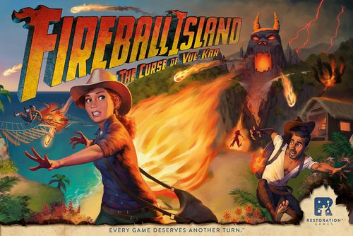 Fireball Island Cover