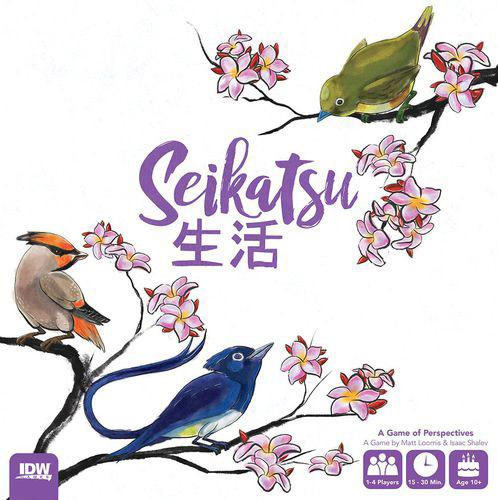 Seikatsu Brettspiel Cover