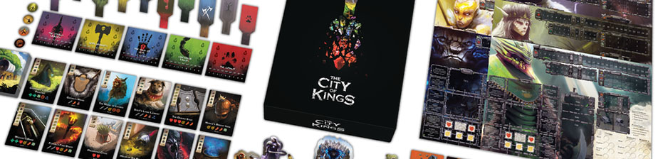 The City of Kings Material