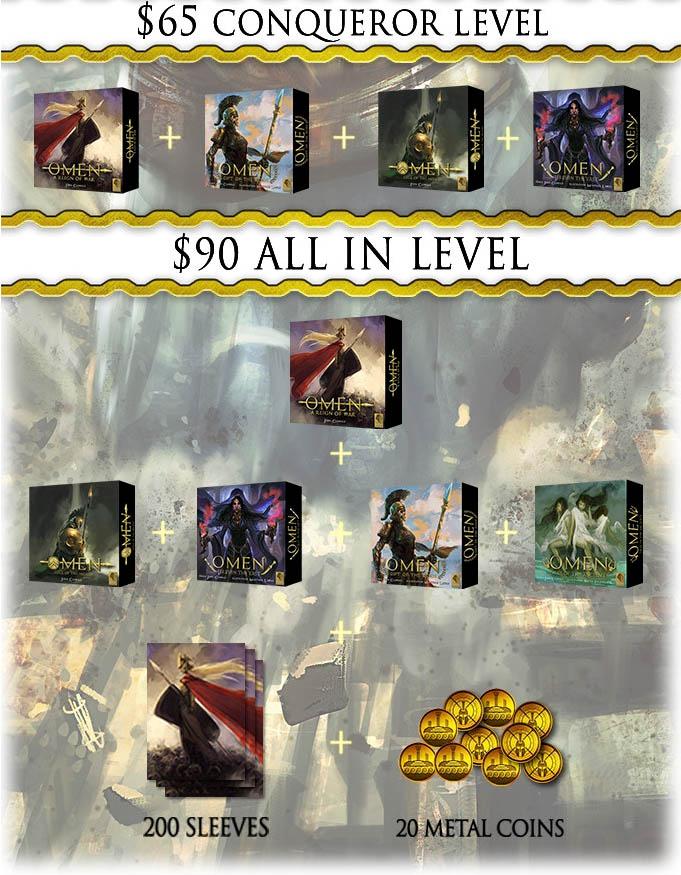 The Omen Saga - Pledge Level