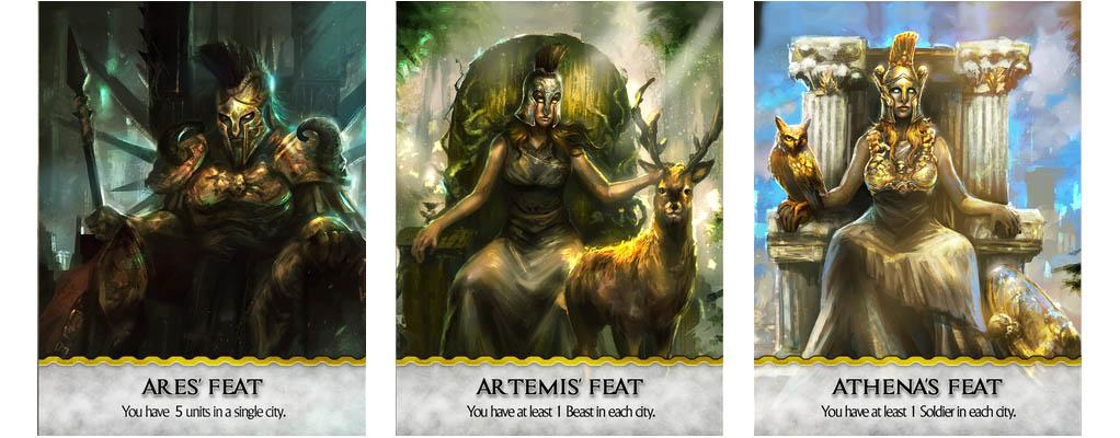 The Omen Saga - Götter Feats
