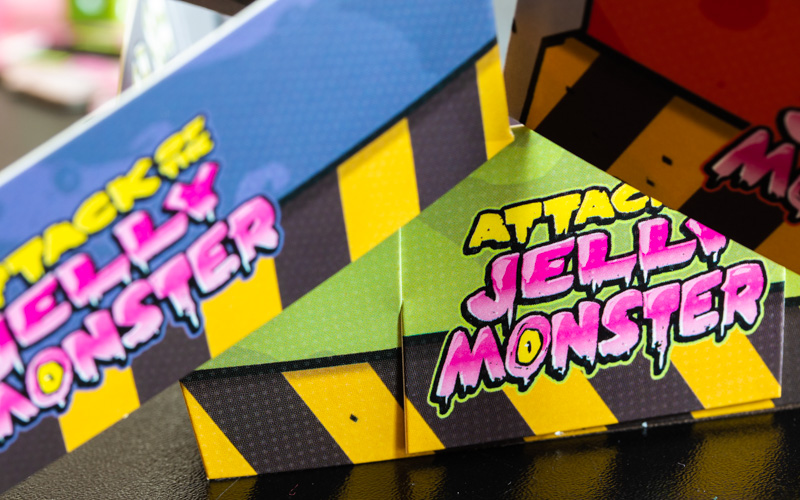 Attack of the Jelly Monster Trays